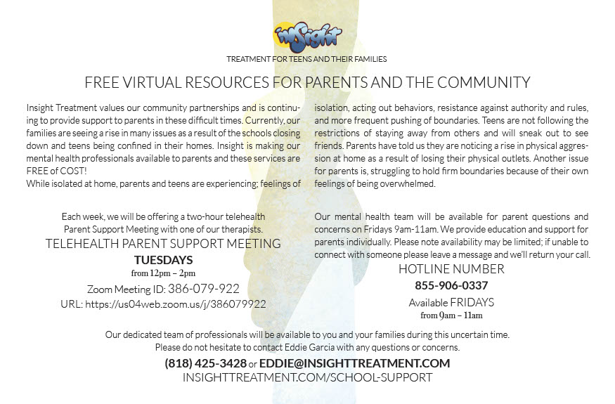Free Virtual Resources for Parents and the Community