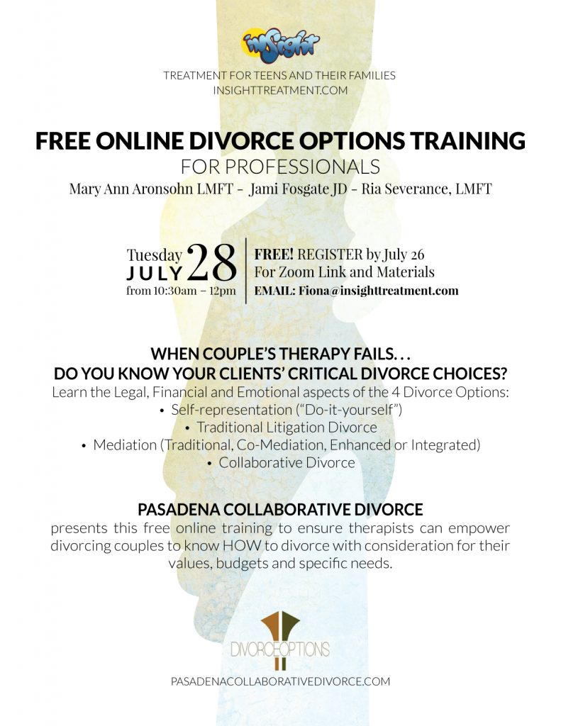 online divorce options training