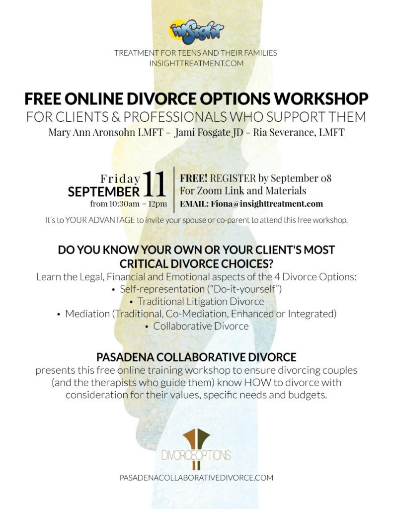free online divorce options training